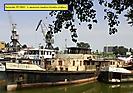 Remorkér Šturec v Severnom bazéne prístavu Bratislava