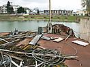 Šturec pristavený oproti lodnému výťahu