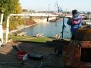 Oprava člnového výložníka